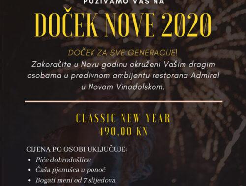 Dočekajte Novu 2020. u Marini Novi