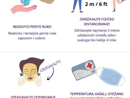 Covid-19 procedura u Marina Novi